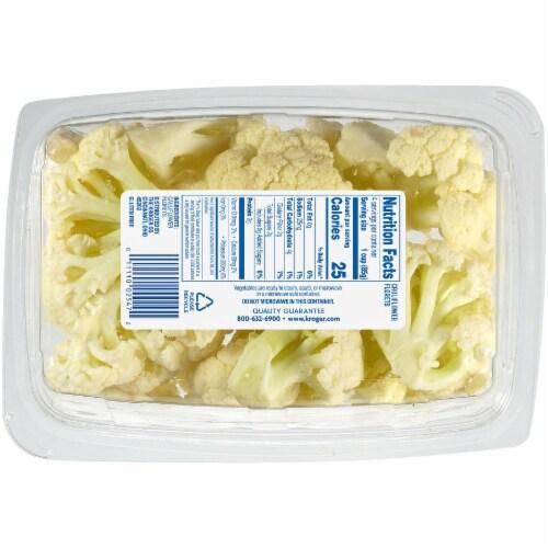 Kroger® Cauliflower Florets Perspective: back