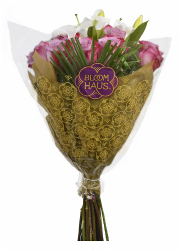 Bloom Haus™ Noble Rose Bouquet Perspective: back