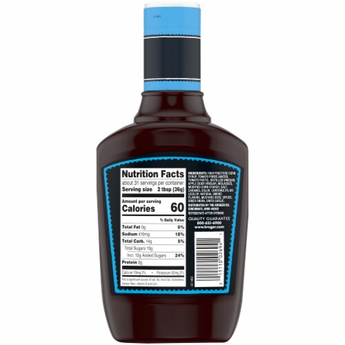 Kroger® This is The Original Barbecue Sauce Perspective: back