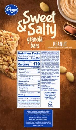 Kroger® Sweet & Salty Peanut Granola Bars Perspective: back