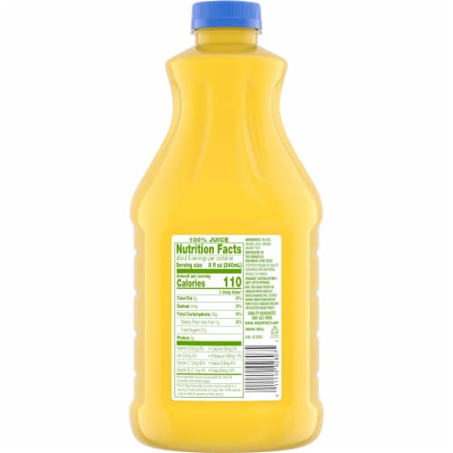 Simple Truth Organic® 100% Orange Juice with Pulp Perspective: back