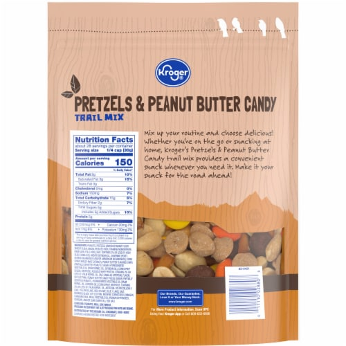 Kroger® Peanut Butter Favored Pretzel Trail Mix Perspective: back