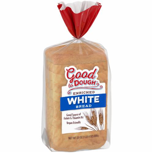 Good to Dough™ White Bread Perspective: back