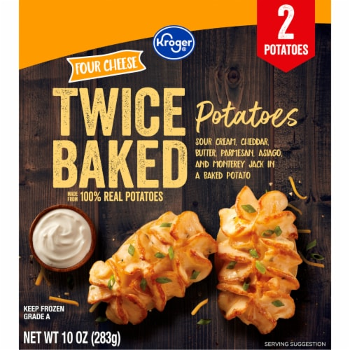 Kroger® Four Cheese Twice Baked Potatoes Perspective: back