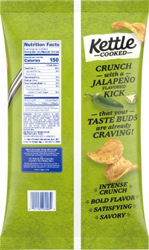 Kroger® Kettle Cooked Gluten Free Jalapeno Potato Chips Perspective: back