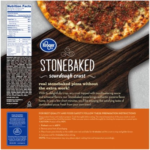 Kroger® Hot Honey Pepperoni Pizza Perspective: back
