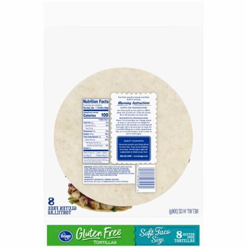 Kroger® Gluten Free Soft Taco Size Tortillas Perspective: back