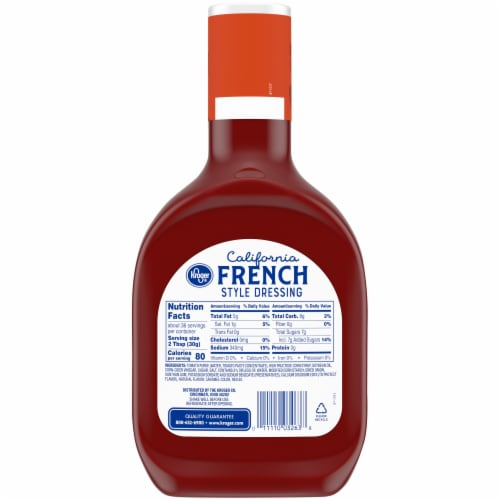 Kroger® California French Style Dressing Perspective: back