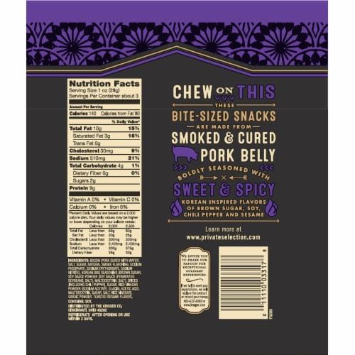 Private Selection™ Korean Inspired Seasoned Pork Belly Bites Perspective: back