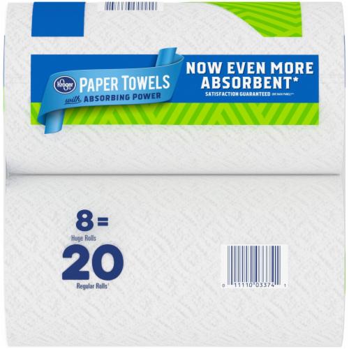 Kroger® Select-A-Sheet Paper Towels Perspective: back