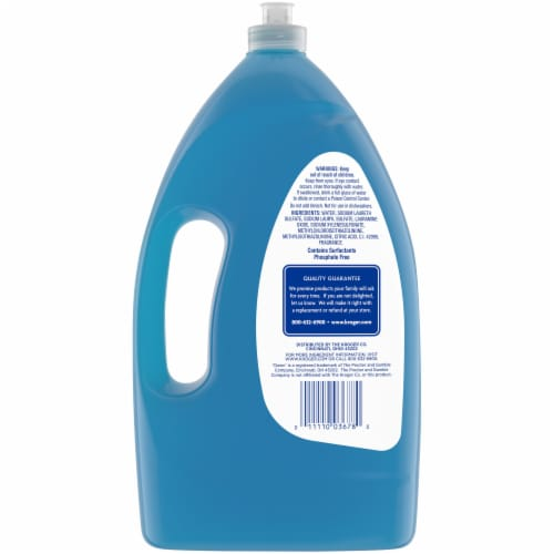 Kroger® Clean Scent Grease Cleaning Ultra Concentrated Liquid Dish Soap Perspective: back