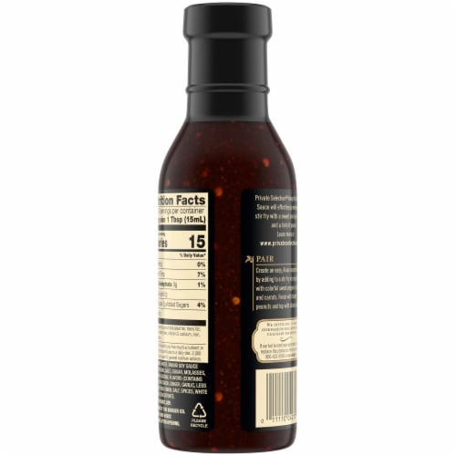 Private Selection® Kung Pao Stir Fry Sauce Perspective: back