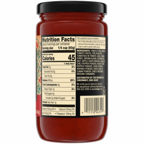 Private Selection® Barbacoa Cooking Sauce Perspective: back