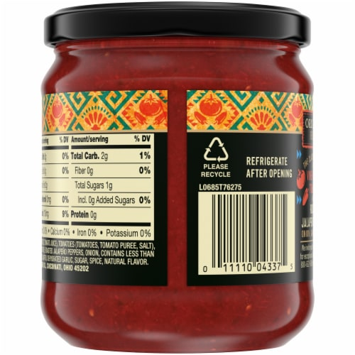 Private Selection™ Medium Restaurant Style Salsa Perspective: back