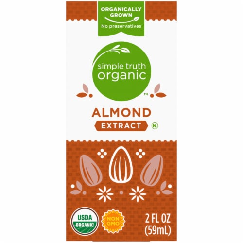 Simple Truth Organic™ Almond Extract Perspective: back