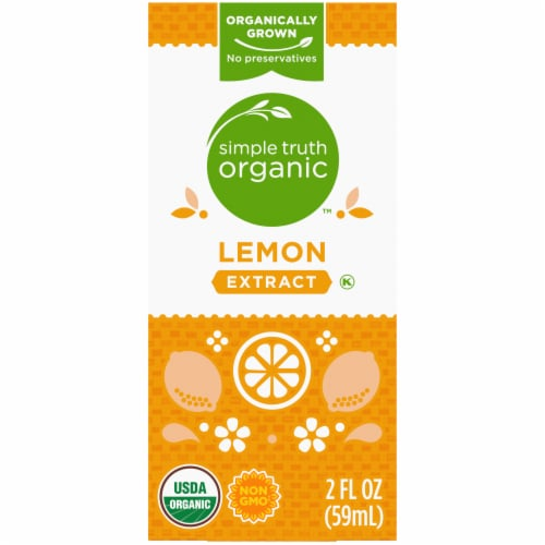Simple Truth Organic™ Lemon Extract Perspective: back