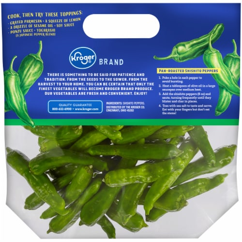 Kroger® Shishito Peppers Perspective: back
