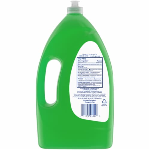 Kroger® Green Apple Grease Cleaning Antibacterial Dish and Hand Soap Perspective: back