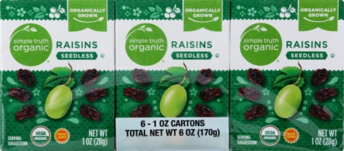 Simple Truth Organic® Seedless Raisins Perspective: back