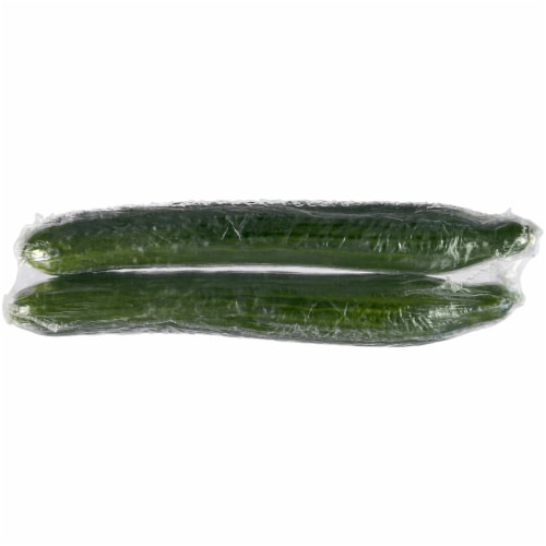 Kroger® English Seedless Cucumbers Perspective: back