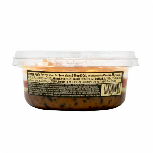Private Selection® Black Bean Layered Dip Perspective: back