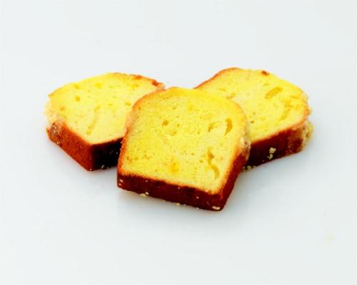 Bakery Fresh Goodness Lemon Sliced Loaf Cake Perspective: back