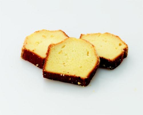 Bakery Fresh Goodness Vanilla Sliced Loaf Cake Perspective: back