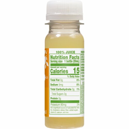 Simple Truth Organic® Ginger Shot Perspective: back