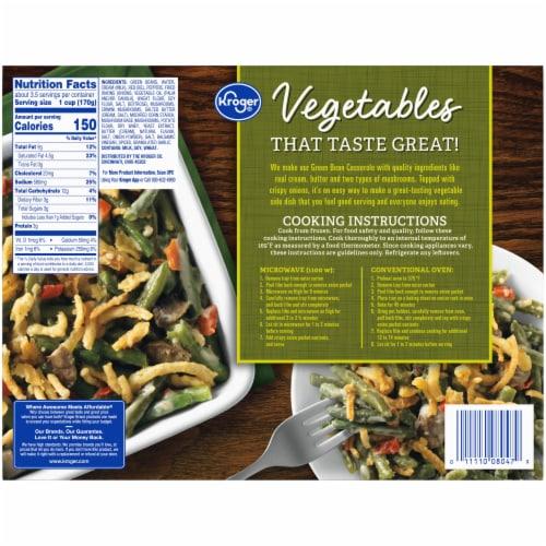 Kroger® Green Bean Casserole Family Size Perspective: back