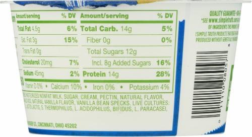 Simple Truth™ Quark! Vanilla Yogurt Perspective: back