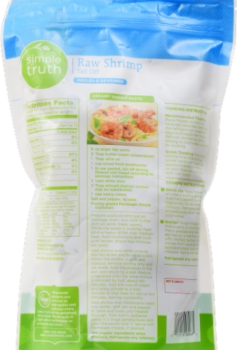 Simple Truth™ Peeled & Deveined Jumbo Raw Shrimp Perspective: back