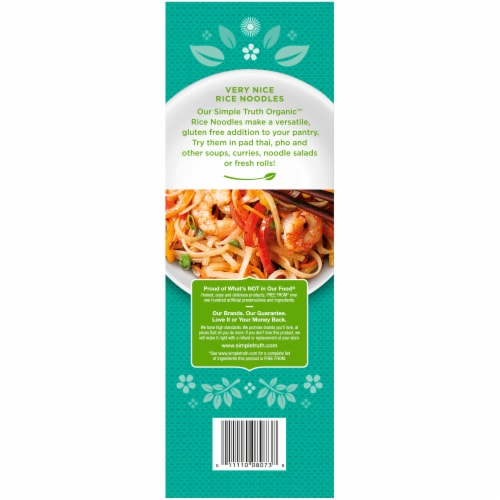 Simple Truth Organic™ Pad Thai Brown Rice Noodles Perspective: back