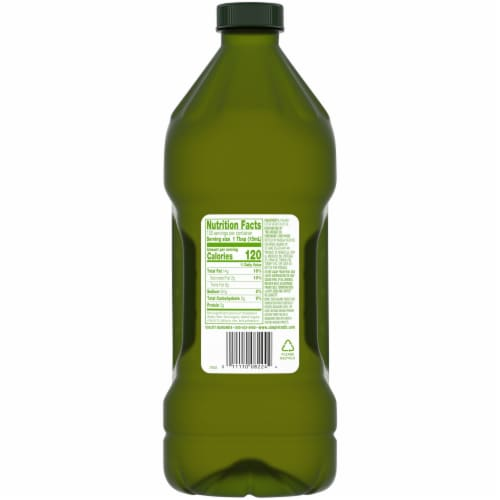 Simple Truth Organic® Unfiltered Extra Virgin Olive Oil Perspective: back