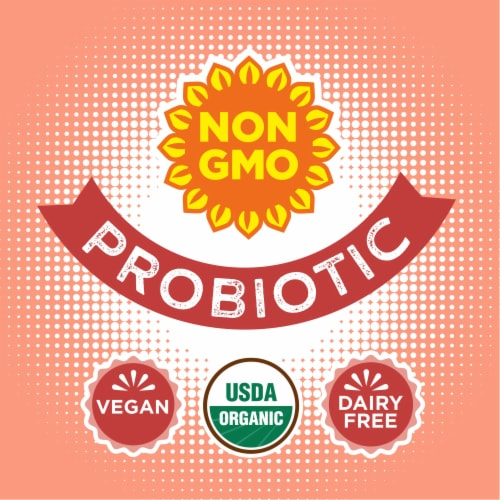 Simple Truth Organic™ Sparkling Probiotic Ginger Peach Kefir Water Drink Perspective: back
