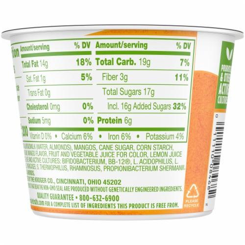 Simple Truth™ Dairy Free Mango Almondmilk Yogurt Alternative Perspective: back