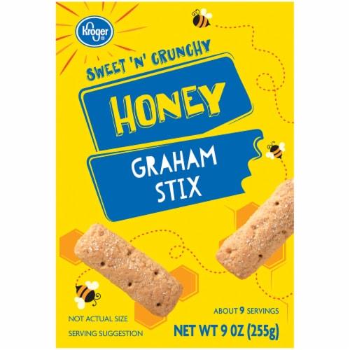 Kroger® Honey Graham Stix Cookies Perspective: back