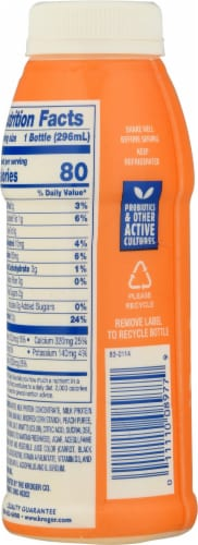Kroger® CarbMaster® Peach Protein Smoothie Perspective: back