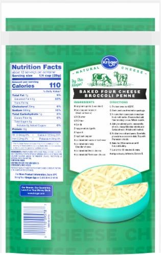 Kroger® Parmesan Shredded Cheese Perspective: back