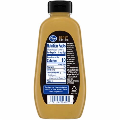 Kroger® Honey Mustard Perspective: back