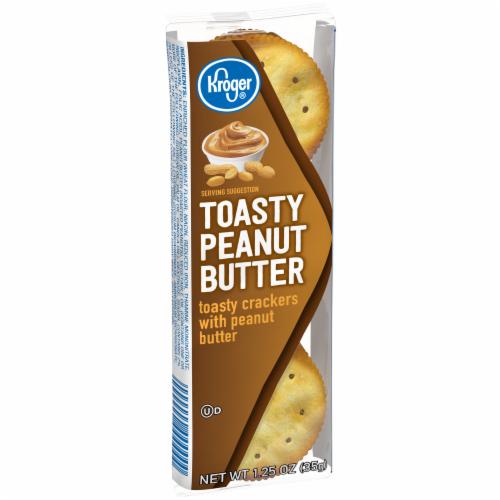 Kroger® Toasty Peanut Butter Sandwich Crackers Perspective: back