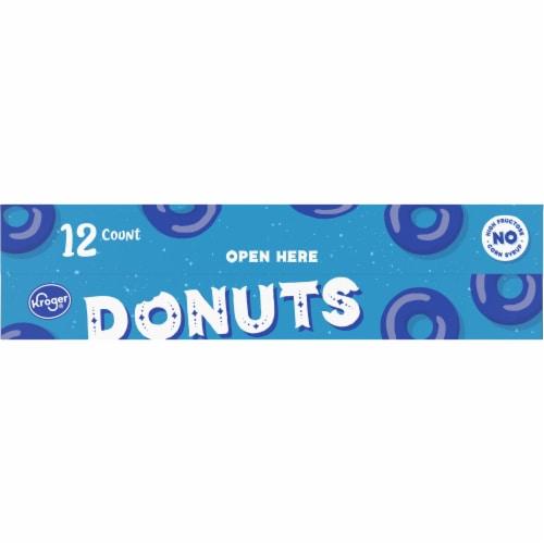 Kroger® Plain & Powdered Cake Donuts Perspective: back