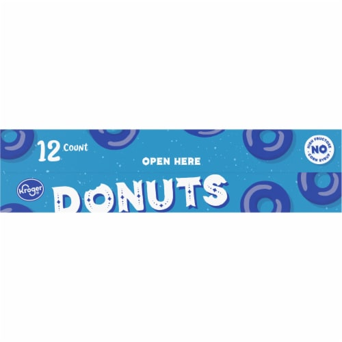 Kroger® Cinnamon Sugar Cake Donuts Perspective: back