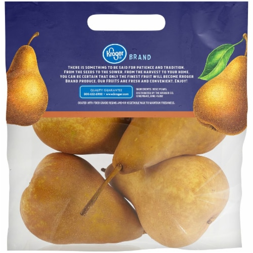 Kroger® Bosc Pears Pouch Perspective: back