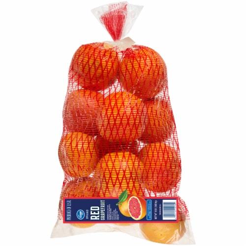 Kroger® Red Grapefruit Bag Perspective: back