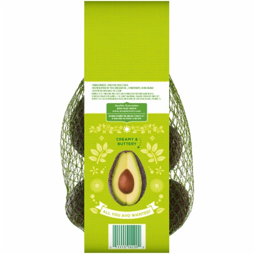 Simple Truth Organic™ Hass Avocados Perspective: back