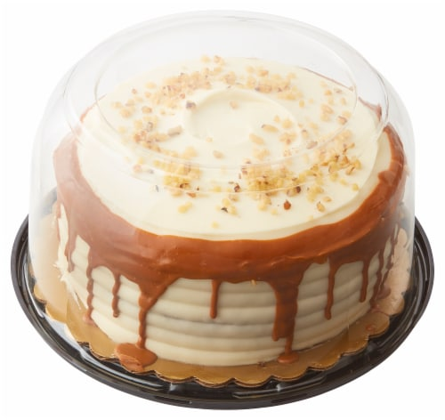 Bakery Fresh Goodness Carrot Cake With Cream Cheese Icing Perspective: back