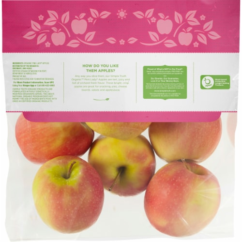 Simple Truth Organic™ Cripps Pink Apples Perspective: back
