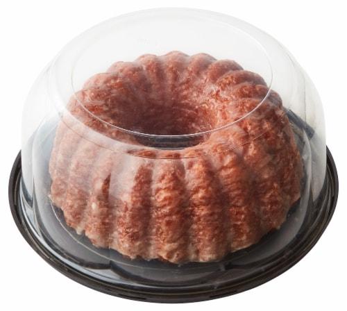 Bakery Fresh Goodness Raspberry White Chocolate Bundt Cake Perspective: back