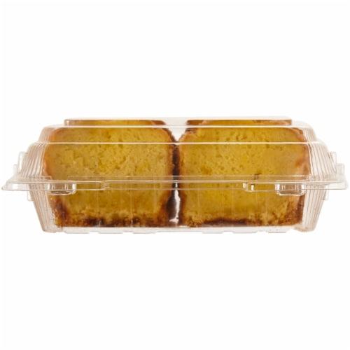 Bakery Fresh Goodness Sliced Lemon Loaf Cake Perspective: back