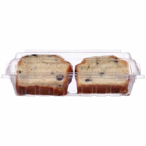 Bakery Fresh Goodness Sliced Blueberry Loaf Cake Perspective: back